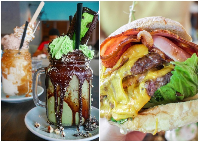 freak shake, freak burger, patissez, manuka, city, ACT,