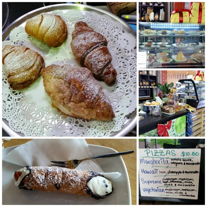 fresh croissants, fresh cannoli concord, caffe dm, cafe mortlake