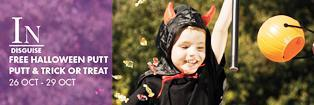 halloween, in disguise, treat or treat, putt putt, Indooroopilly shopping centre