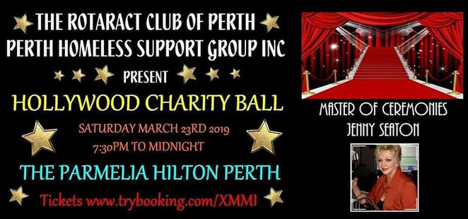 Hollywood Charity Ball, Fundraiser, not for profit, Perth Homeless Support Group, Rotaract Club of Perth