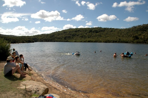 Manly Dam, Manly swimming hole, Manly Reservoir, Sydney travel, Sydney swimming holes