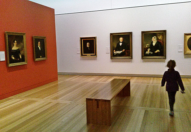 national portrait gallery, canberra, ACT, tom roberts, william dobell, ACT, australian artists,
