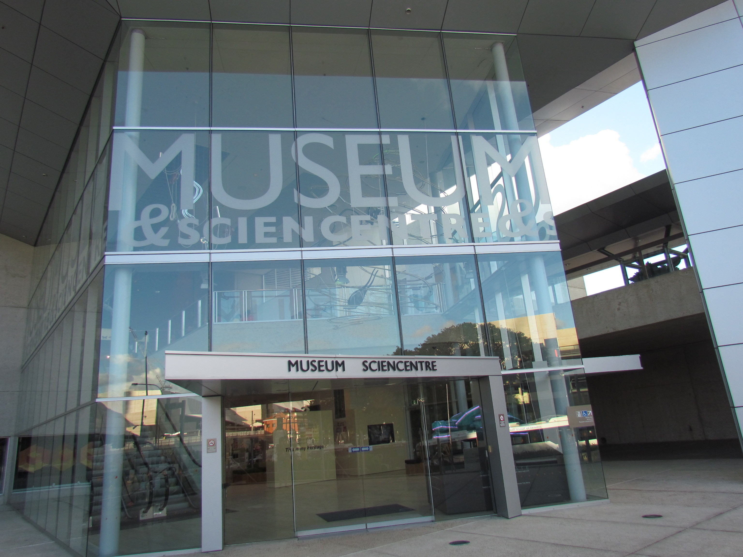 Foyer Museum Queensland : A night at the museum brisbane