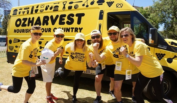 ozharvest, great food rescue race, waste reduction, community activity