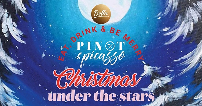 Pinot & Picasso Christmas Under the Stars, Bella Vista Hotel