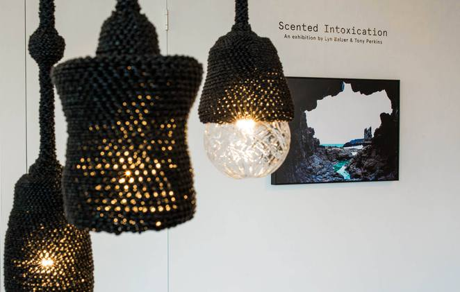 Scented Intoxication Exhibition by Lyn Balzer & Tony Perkins , Australian Design Centre