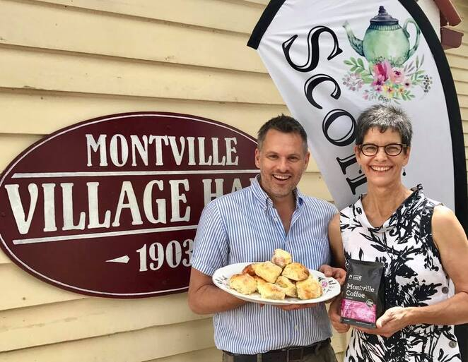 Scone Time Social Events on Sunshine Coast, Martin Duncan, Sunshine Coast Foodie, seniors, innovative union, creating social experiences for the young at heart in unique special buildings, Cooroy Memorial Hall, Montville Village Hall, historical old buildings, sponsorships available, golden-agers, Scone Time Cooroy, Scone Time at Bankfoot House, Glass House Mountains, Mary Grigor Centre, Bankfoot House Heritage Precinct, carers, companions, family, get together, Scone Time Caloundra, Sunshine Coast Council, scrumptious morning tea