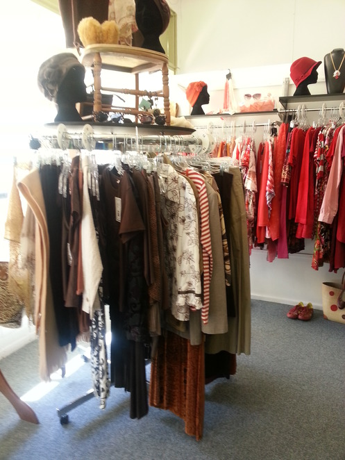 Shopping, clothes, Secondhand, Maryborough