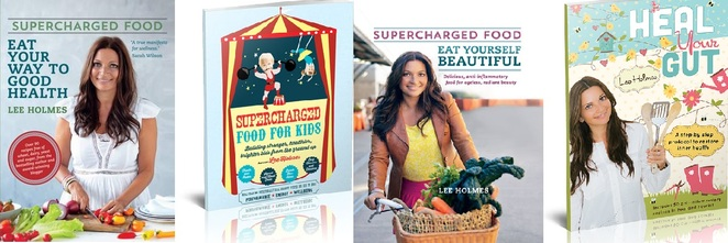 supercharged foods, lee holmes, books, gut health, diet, beauty, kids