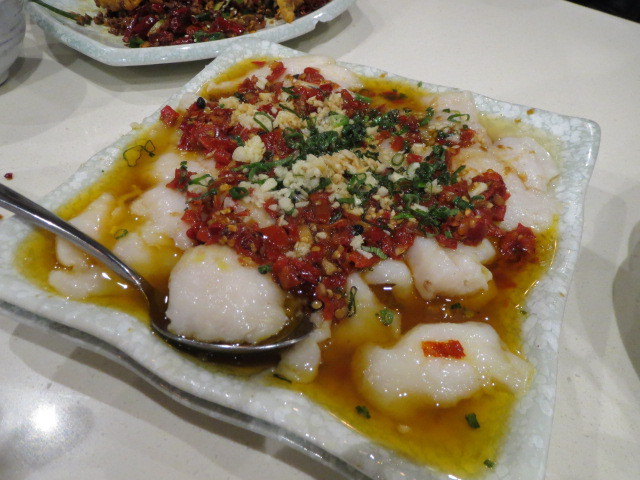 Taste, Steamed Fish Fillet with Fiery Sauce, Adelaide