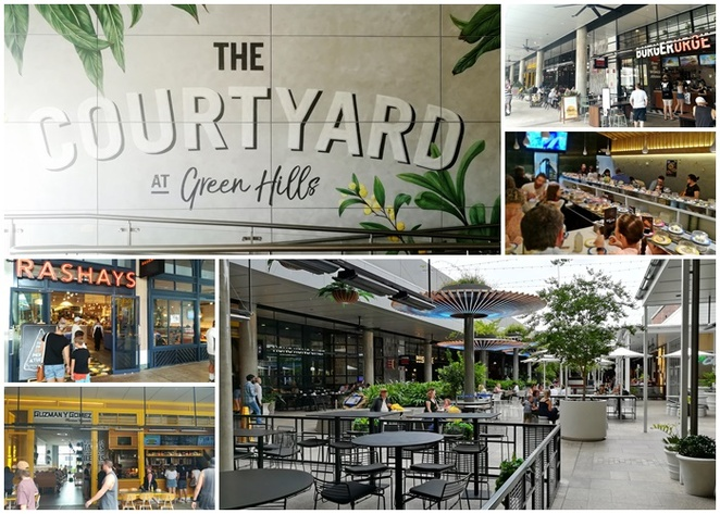 the courtyard, green hills shopping centre, east maitland, newcastle, shopping centres, nsw, australia, nelson bay, port stephens, food courts, cinema, restaurants, cafes, games aecades, hoyts, shops, near nelson bay,