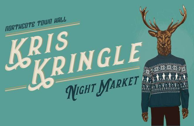 The Kris Kringle Night Markets, 2017, Northcote Town Hall, Melbourne