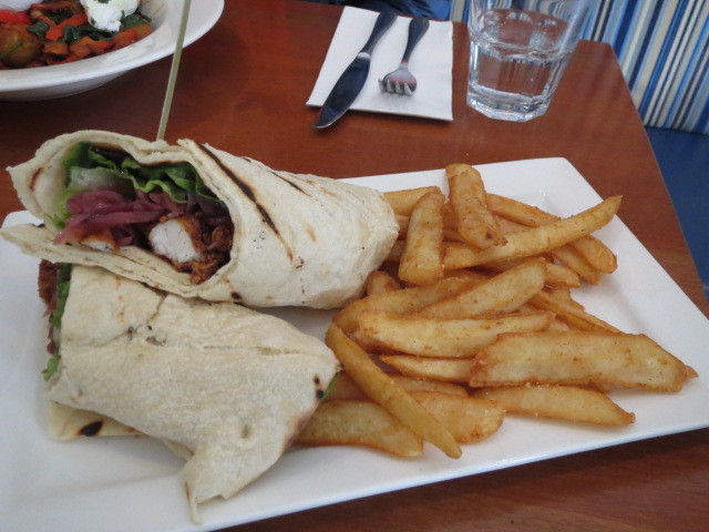 The Store, Crispy Southern Fried Chicken Wrap, Adelaide