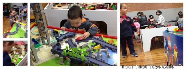 toot toot toys, child friendly cafe, toddler friendly cafe