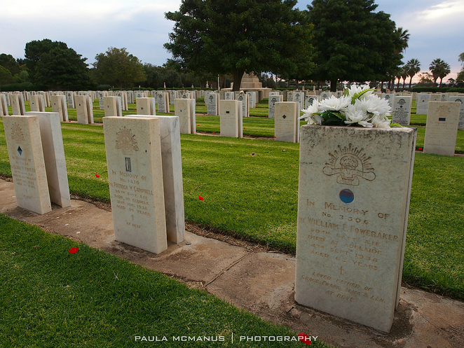 WW1 graves, West Terrace Cemetery, Adelaide