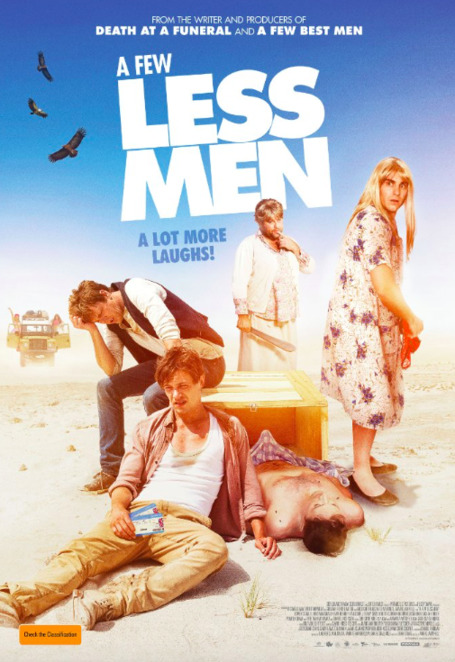 A Few Less Men, A Few Best Men, British-Australian films, Movies opening March 2017, dark comedy