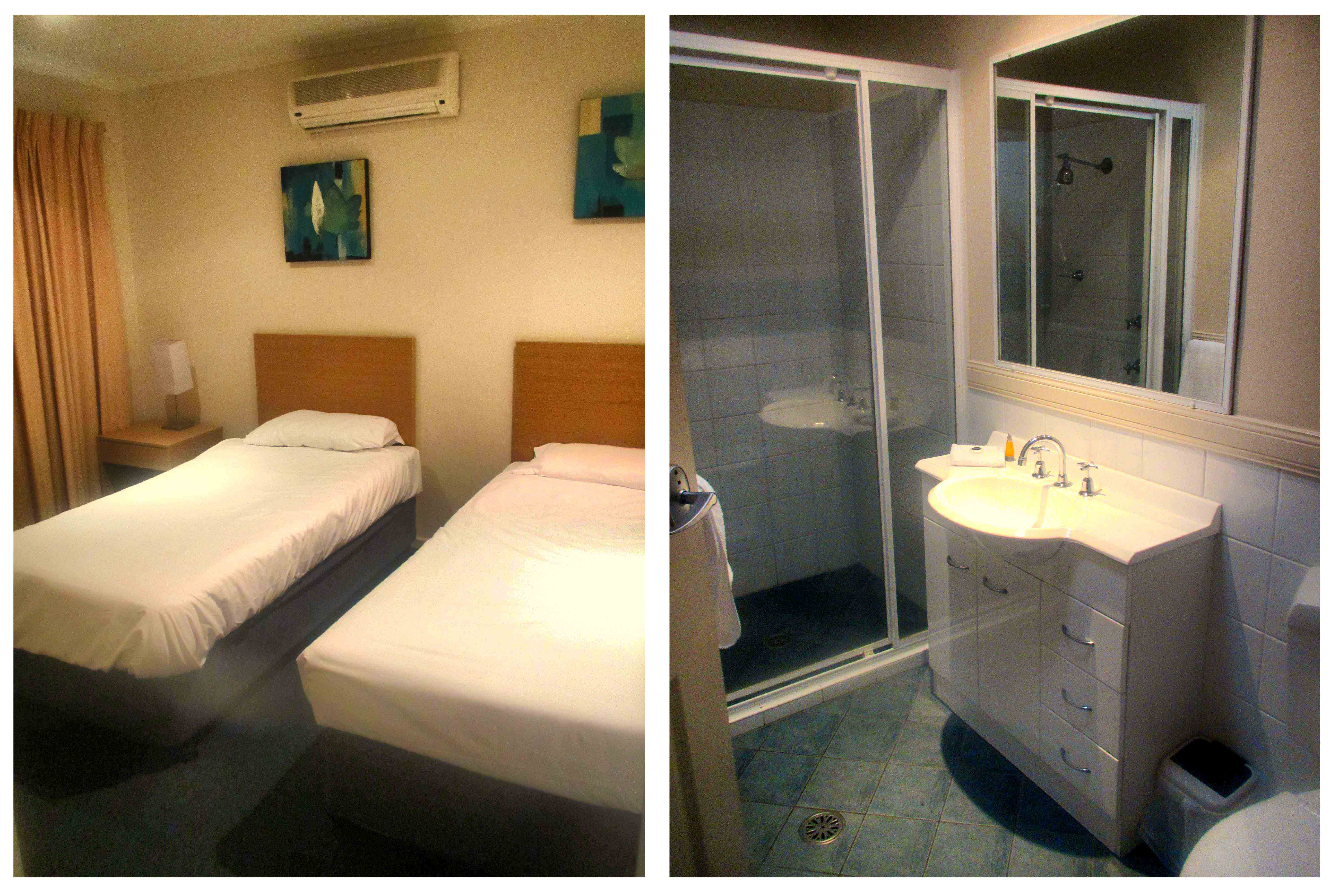 Aqualuna beach resort coffs harbour brisbane for Bathroom seconds brisbane