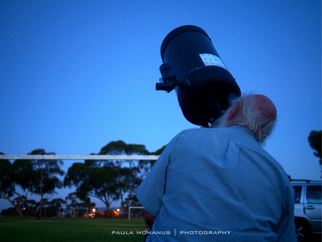Astronomical Society of South Australia public viewing night