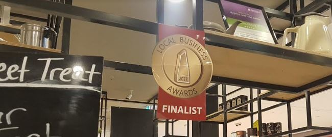 award, dahlia's cafe, campbelltown