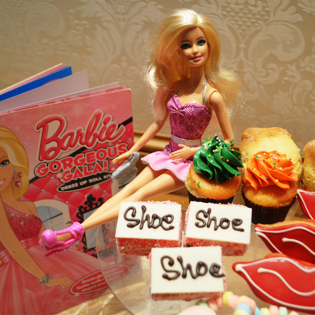 barbie fashionistas, langham high tea barbie
