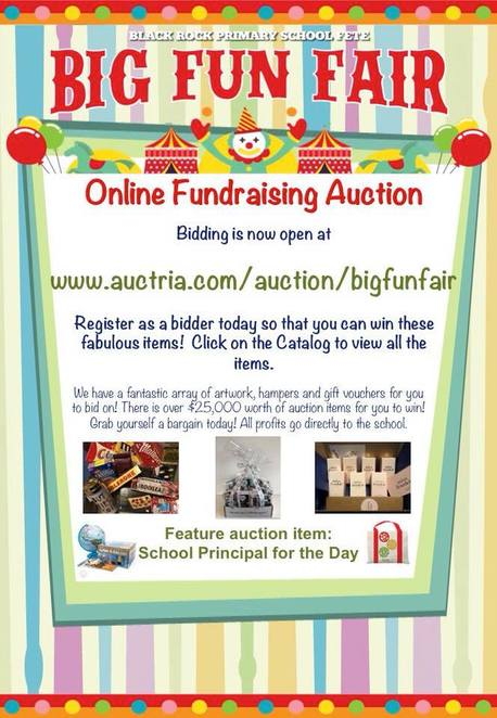 big fun fair 2018, black rock primary school fete 2018, community event, fun things to do, charity, fundraiser for school, help the kids, rides, activities, silent auction, entertainment, food stalls, coffee, displays, craft market, market stalls, shopping, footy handball competition