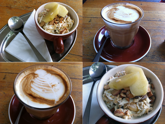 Bircher Muesli Coffee