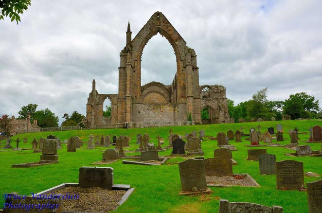 bolton abbey, yorkshire dales,england