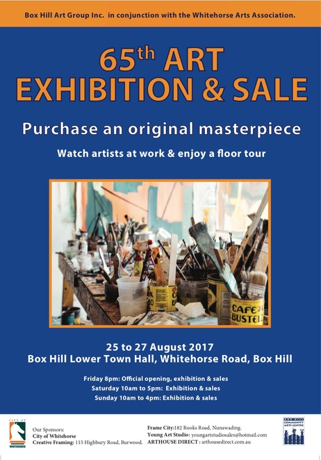 box hill art group, art exhibition, art tours, artists at work, floor tours, box hill lower town hall, artists, paintings, wall art, fun things to do, community event, whitehorse arts association, local and original artworks for sale, painting in action, fun things to do, art lovers, artistic