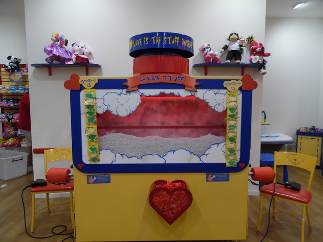 Build-a-Bear Stuffing Machine