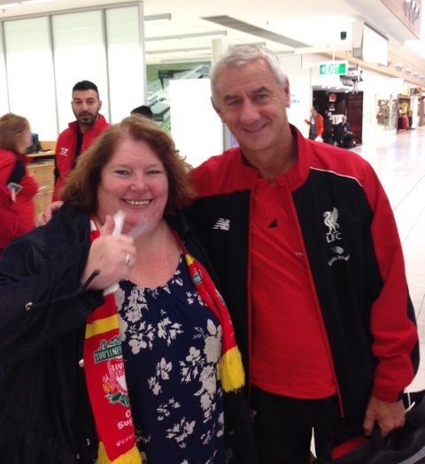 Carol Houghton, Ian Rush, LFC, Official LFC Supporters Club Western Australia