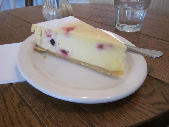 Cheesecake, Fleur, French Cafe food