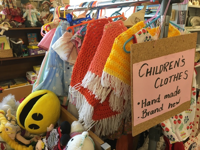 church thrift shop opshop secondhand charity disabled