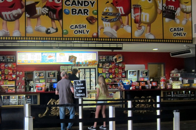 Cineplex Balmoral candy bar