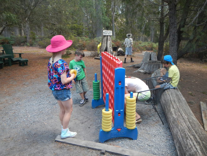 Connect 4 at Glengarry Bush Maze
