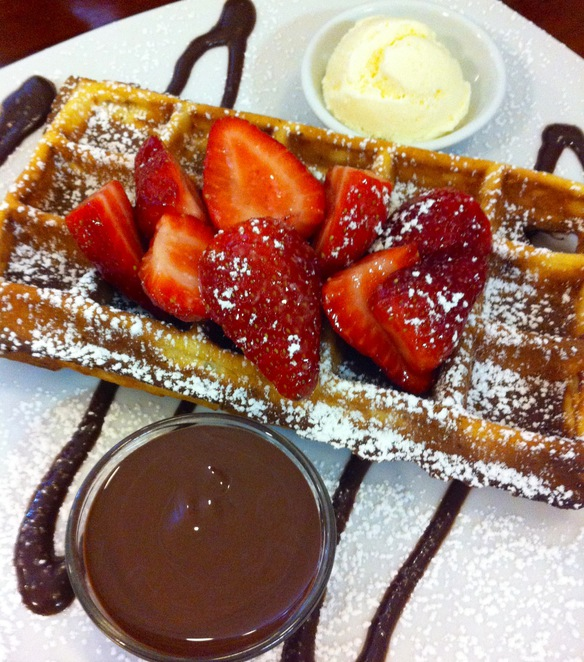 Creperie Bruxelles Adelaide's Famous Poffertjes Royal Show crepes belgium waffles pancake dessert cafe strawberry chocolate