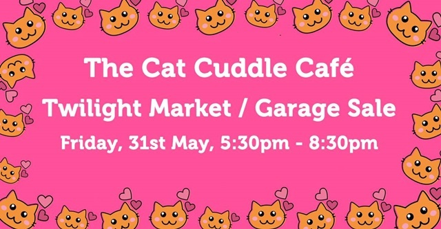 Cuddle,Cat,Garage,sale