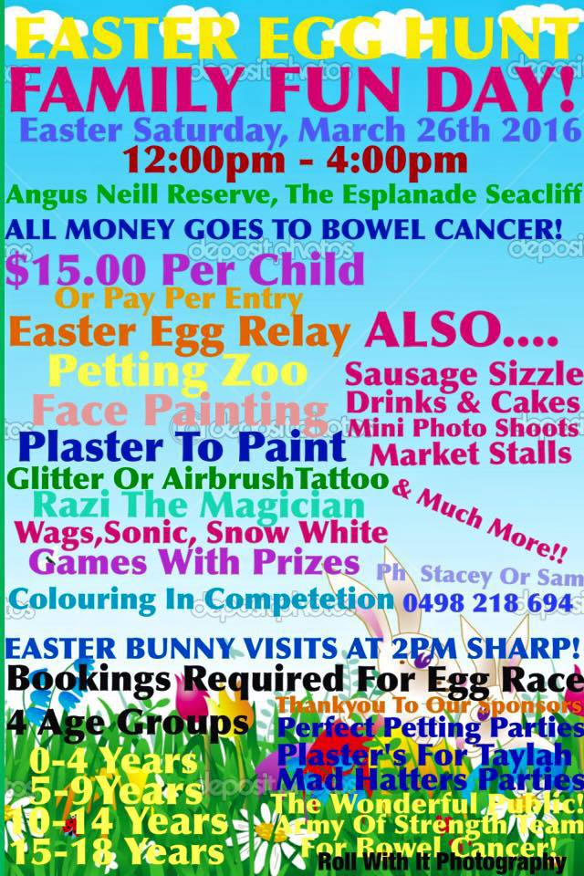 Fun things to do on easter weekend in adelaide adelaide easter family fun day easter family fun easter eggs petting zoo negle Gallery