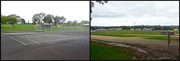 elliminyt Recreation Reserve, Colac, tennis court, sports oval, oval, football oval, south colac sports club,