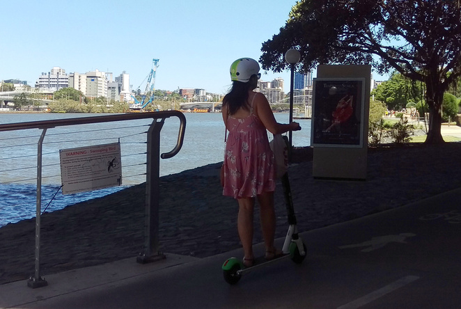 eScooters are a convenient way to get around the inner city