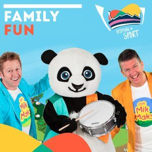 Festival of Sport, Geelong, 2018, Free, school holidays, bellarine, kardinia park, GMHBA stadium, geelong stadium, mik maks, sport, free activities, drums the panda,