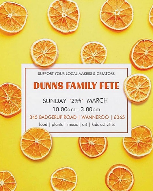 fete, free, markets, music, food, wanneroo, dunns, families, kids, entertainment, music