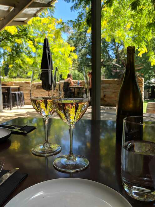 food, wine, mt barker, clover and stone