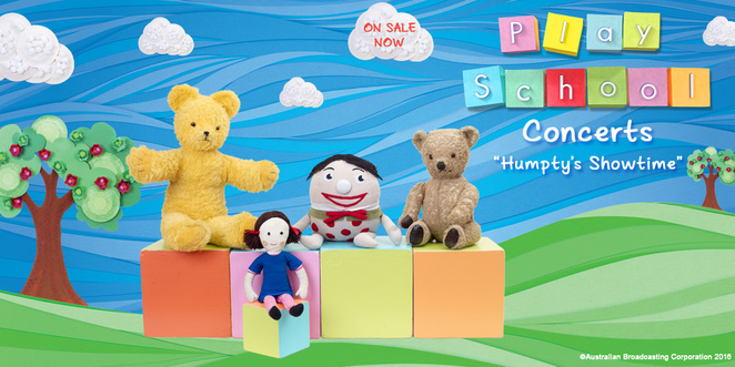 humpties showtime, play school show, canberra, ACT, play school, kids shows, july 2016,