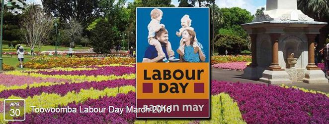 Labour Day March 2016 Toowoomba