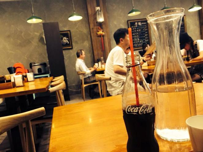 like noodle, noodle house, restaurant, chinese, asian, hurstville, coke, coca cola, soda, soft drink