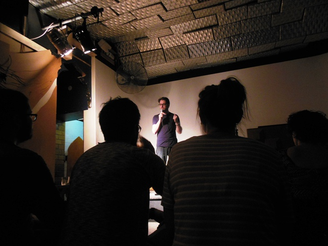 live stand up comedy