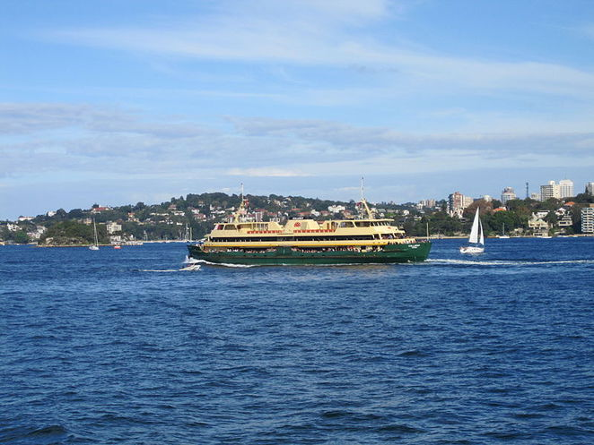 The Collaroy, which services the Circular Quay to Manly route.