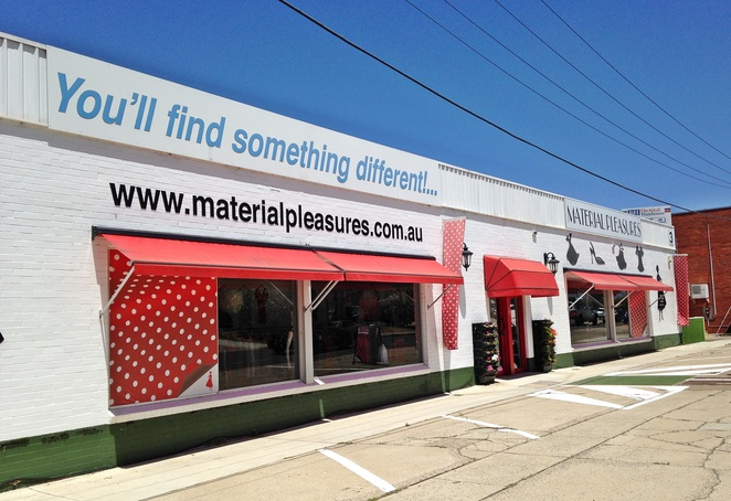 material pleasures, fyshwick, canberra, recycled clothing, ACT, fyshwick, clothes, second hand, upcycled