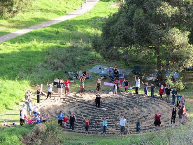 Merri Creek labyrinth, Friends of Merri Creek Labyrinth, labyrinth