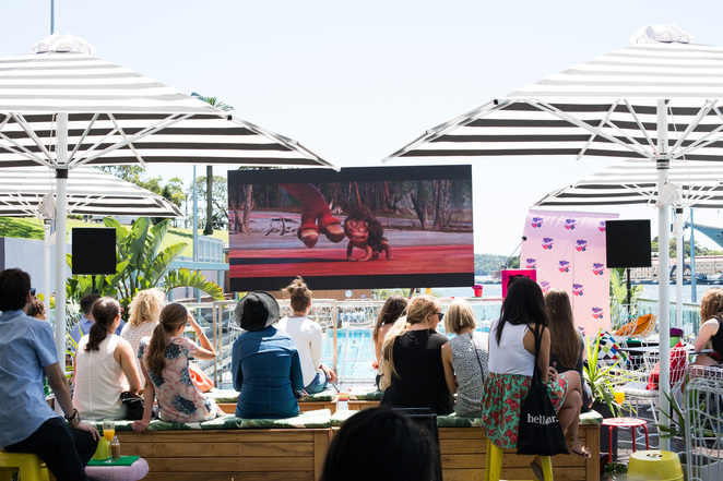 Moonlight Cinema Programme Launch, Outdoor Cinema, Poolside Cafe, ABC Pool
